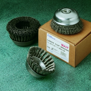 CUP BRUSH- STAINLESS