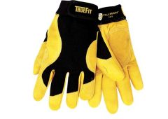true-fit cowhide gloves- L