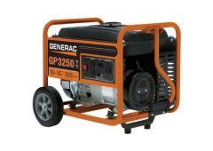 GP3250 generator 4gal tank