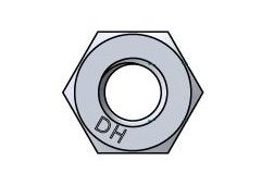 1/2-13 A194 2H Galv. Hex Nut