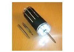 LED Screwdriver w/ 9 tips &