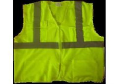 Lime Mesh Safety Vest Cls2