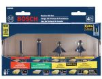 Router Bit Kit -4pc  85294M