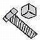 GR.5 HEX TAP BOLTS