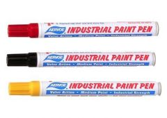 yellow paint marker