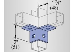 4 hole dbl.corner angle-GRN