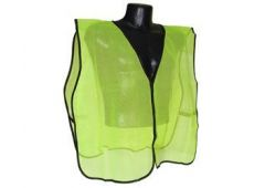 Economy lime green safety vest