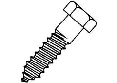 5/8 X  5 1/2 lag screw