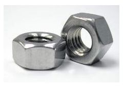 20mm x 2.5 hex nut 18-8 SS