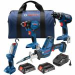 4-Tool Brushless Cordless Kit
