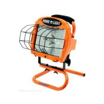 Coleman Cable 500w Halogen Work Light